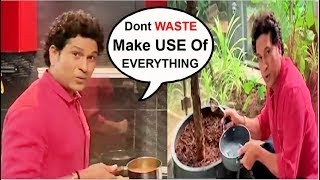 Sachin Tendulkar MIND BLOWING Tricks For COOKING & GARDENING | Dont Miss This