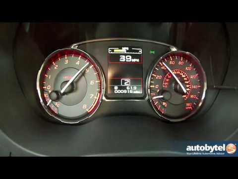 2015 Subaru WRX 0-60 MPH Acceleration Test