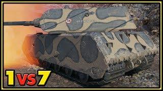 Maus - 1 vs 7 - Tier X Match - World of Tanks Gameplay