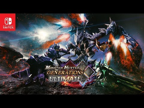 Monster Hunter Generations Ultimate - Announcement Trailer thumbnail