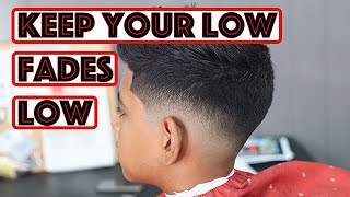How To: Low Fade Haircut Like A Pro Barber
