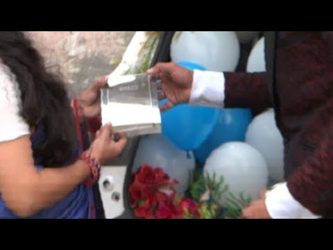 Download Anniversary surprise gift to wife Mp4 HD Video and MP3