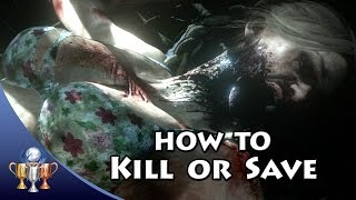 Until Dawn - How To Kill or Save Everyone - Death Endings (This is THE End & They All Live)