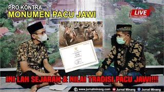 Pro Kontra Monumen Pacu Jawi | Inilah Sejarah & Nilai Tradisi Pacu Jawi!!!