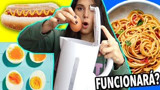 COOKING with a KETTLE: HOT DOGS, PASTA, EGGS, STEAM VEGGIES.. will it work? Caro Trippar