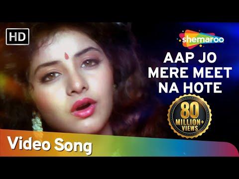 Aap Jo Mere Meet Na (HD) | Geet Songs | Divya Bharti | Avinash Wadhavan | Lata Mangeshkar