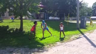 Sileto whip gangsta girls dance