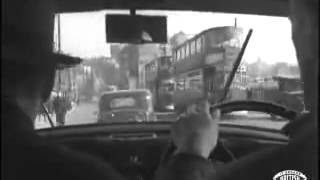 Driving Through Liverpool - 1946
