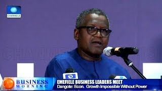 Economic Growth Impossible Without Power   Dangote
