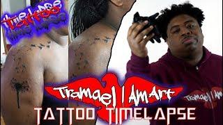 DANDELION TATTOO WITH BIRDS - Tattoo Timelapse