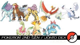 Pokemon 2nd Gen / Johto Dex