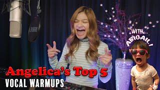 Angelica's Top 5 Vocal Warm-ups   Angelica Hale