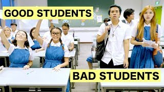 GOOD STUDENTS vs BAD STUDENTS - Video Youtube