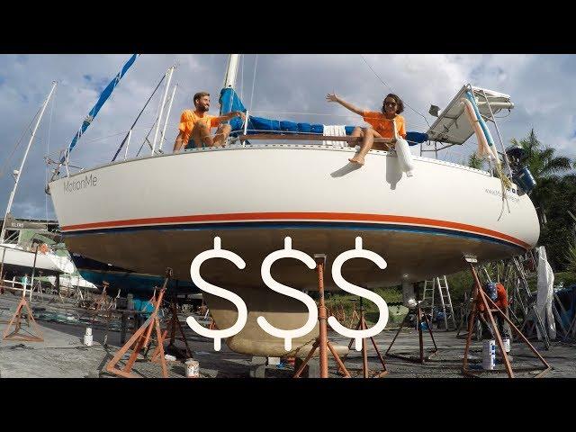 Quanto custa a pintura de fundo do veleiro? Dicas para economizar! - Sailing MotionMe Ep. 29