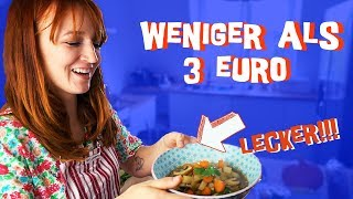 """Heute koche ich 3 leckere, einfache, vegane Rezepte unter 3 Euro zusammen mit Vegan ist ungesund: https://www.youtube.com/watch?v=bJ2p_eZmSRg  Wie gefällt euch das Format? Ich hätte noch paar andere Ideen wie zB 5 Abendessen für die ganze Familie unter 5 Euro oder 2 schnelle Lunch Rezepte unter 2 Euro. Cool?  Vegan ist ungesund:  https://www.youtube.com/channel/UCURHLn3nl9AFVeD1G0lnlaw https://www.instagram.com/veganistungesund/  Mehr von mir: http://instagram.com/mirellativegal https://twitter.com/Mirellativegal https://www.facebook.com/mirellativegal  Mein Buch """"Kann man mal machen"""" hier vorbestellen: Amazon: https://goo.gl/XRmLqt * Thalia: https://bit.ly/2LYDSm6 * Oder einfach in die Buchhandlung deines Vertrauens gehen und """"Kann man mal machen"""" von mirellativegal vorbestellen.   Die mit Sternchen (*) gekennzeichneten Verweise sind sogenannte Provision-Links. Wenn du auf so einen Verweislink klickst und über diesen Link einkaufst, bekomme ich von deinem Einkauf eine Provision. Für dich verändert sich der Preis nicht."""