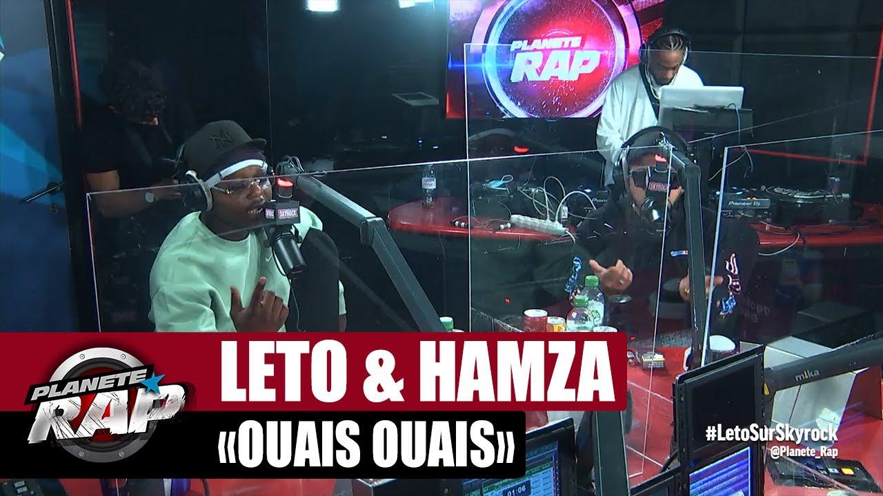 """Leto feat. Hamza """"Ouais ouais"""" #PlanèteRap"""