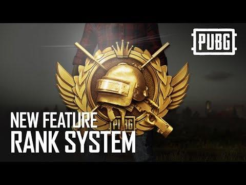 PlayerUnknown's Battlegrounds Rank System ABCs
