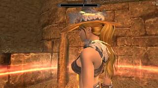 Skyrim mod: VIGILANT English Voiced #35 Reyda the Glenmoril Witch and the Lamae's Grave