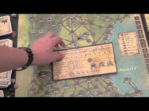 Dice Tower Reviews: Rails of New England