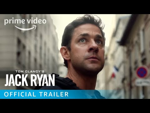 Tom Clancy's Jack Ryan Trailer Starring John Krasinski