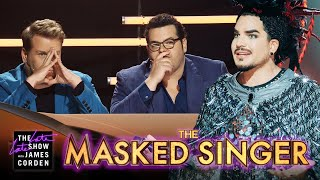 Worst Masked Singer Judges Ever W/ Adam Lambert, Josh Gad & James Corden