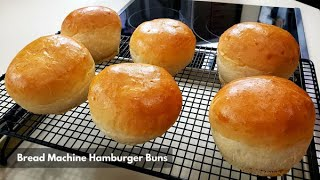 Bread Machine Hamburger Buns