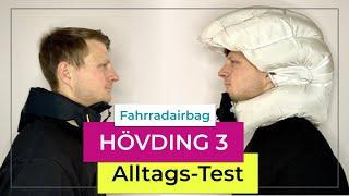 Hövding 3 [2021] im Test: Lohnt sich der Kauf des Airbag Helms?