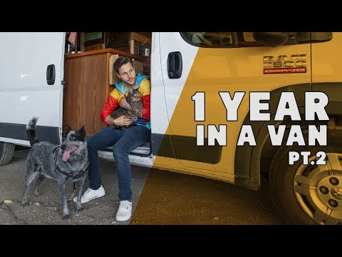 Living In A Van Full Time 1 Year Review | Part 2 | Spring and Summer