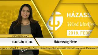 Programajánló / TV Szentendre / 2018.02.15.