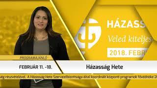 Programajánló / TV Szentendre / 2018.02.15.