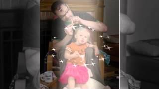 Детская  песенка - Про папу и дочку.(Папа и его дочка)