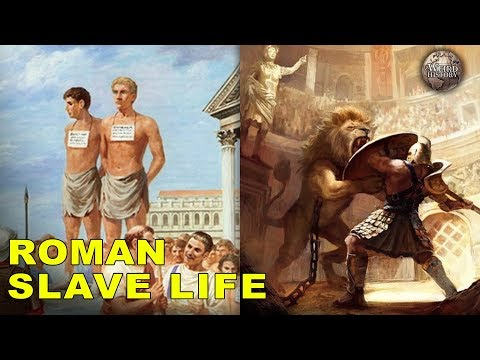 What It Was Like to Be a Roman Slave