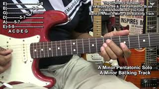 The Difference Between The Blues Scale And The Minor Pentatonic Scale Guitar Lesson