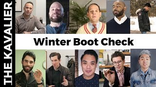 Winter Boot Check - 13+ Great Boots for Men feat. HSS, Hueguh, Style OG, Modest Man T&H and More!
