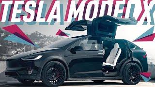 Смотреть онлайн Обзор автомобиля Кроссовер Tesla Model X