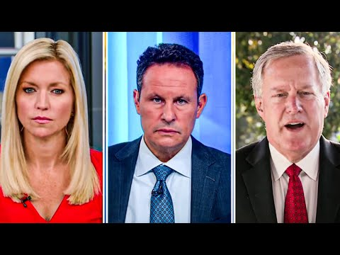 Mark Meadows Desperately Tries to Convince Fox & Friends That Trump Isn't An Idiot