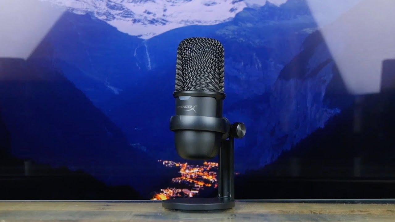 Микрофон HyperX SoloCast (Black) video preview