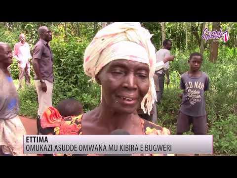 Waliwo omuntu ow'ettima assudde omwana  ow'emyeezi ebiri mu kibira