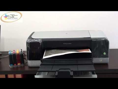 Impresora HP K8600 Tabloide Con Sistema de Tinta Continua STC