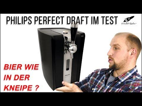 Bier wie in der Kneipe? ► Philips Perfect Draft HD3620 ✅ Bierzapfanlage im Test | produktrakete.de