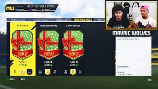 EARLY CHRISTMAS PRESENTS?!! - CHRISTMAS PACK OPENING FIFA 17