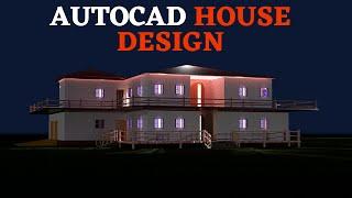 autocad 3d house modeling tutorial - Thủ thuật máy tính