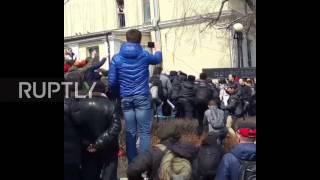 Russia: Anti-corruption protest in Vladivostok ends in arrests and scuffles