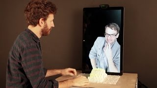 Dynamic Shape Displays Let You Reach Out And Touch Someone
