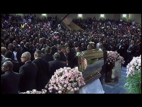 O último adeus a Aretha Franklin ddea5d697d4