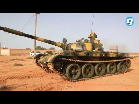 فيديو بوابة الوسط | قوات من الجيش تتوجه إلى مدينة درنة