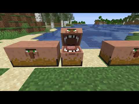 Villager Chest Minecraft Texture Pack