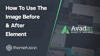 How To Use The Image Before & After Element
