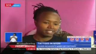 Young residents drawn to tattoos in Nyeri