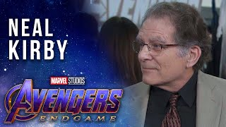 Neal Kirby talks about his father, Jack Kirby's, Marvel Legacy at the Avengers: Endgame Premiere